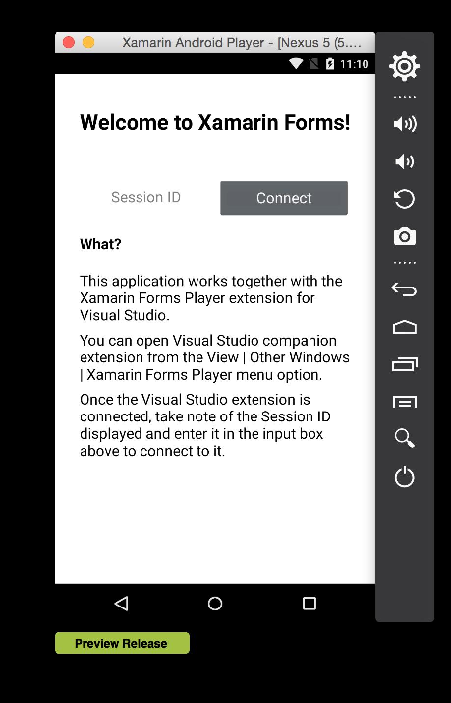 Пишем android приложение в visual studio