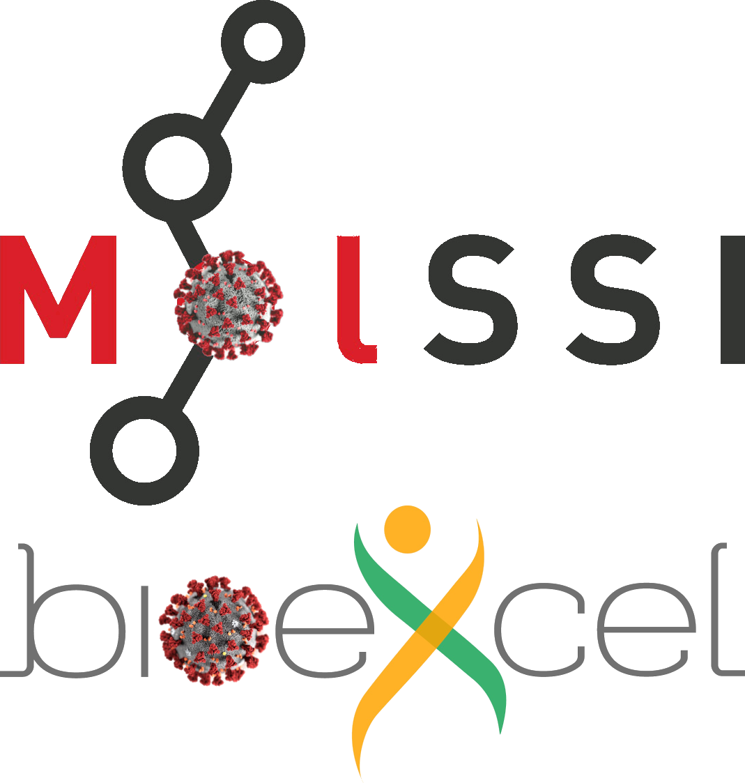 MolSSI, BioExcel, and the Community VS. COVID-19