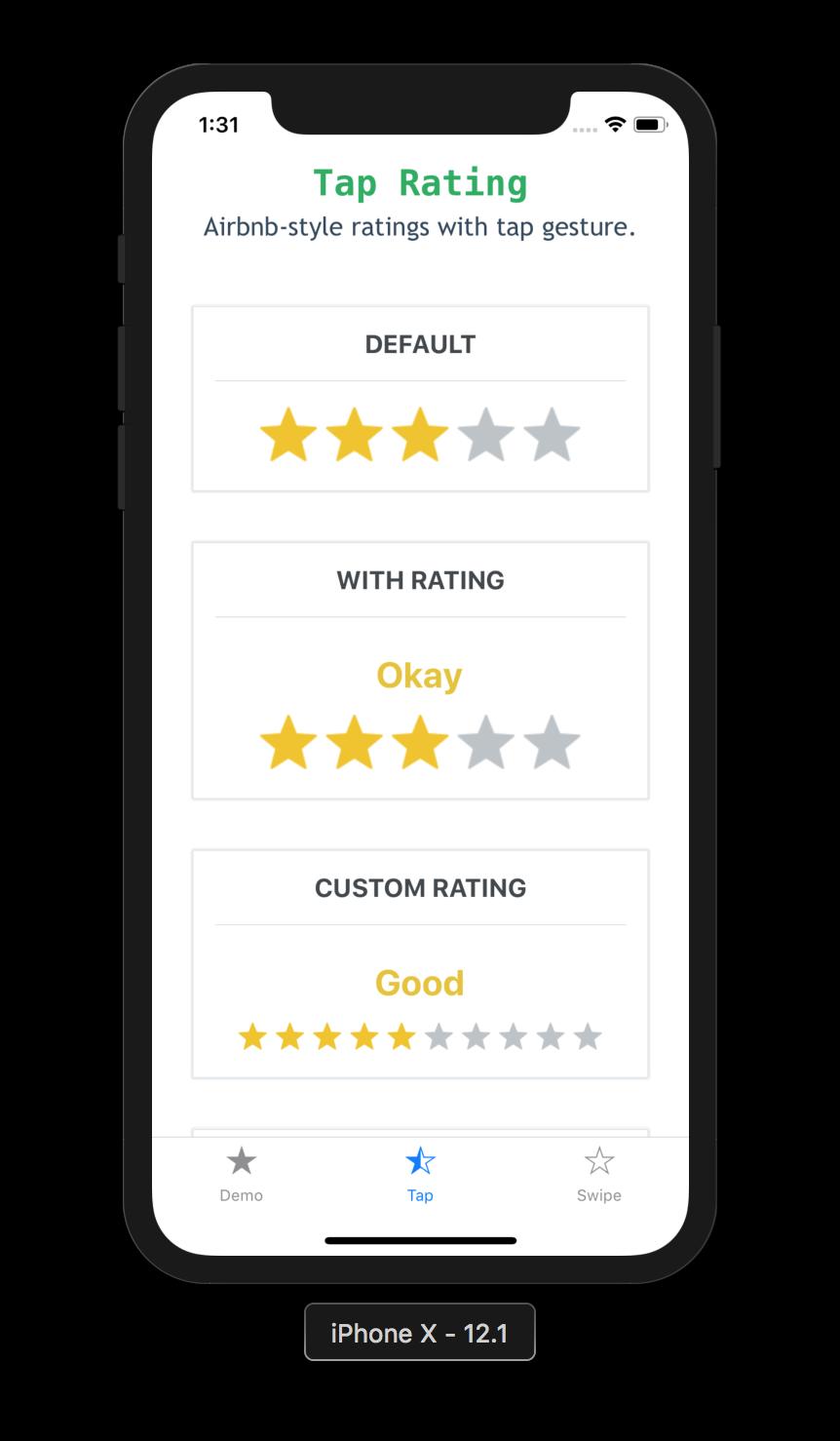 react-native-ratings - npm