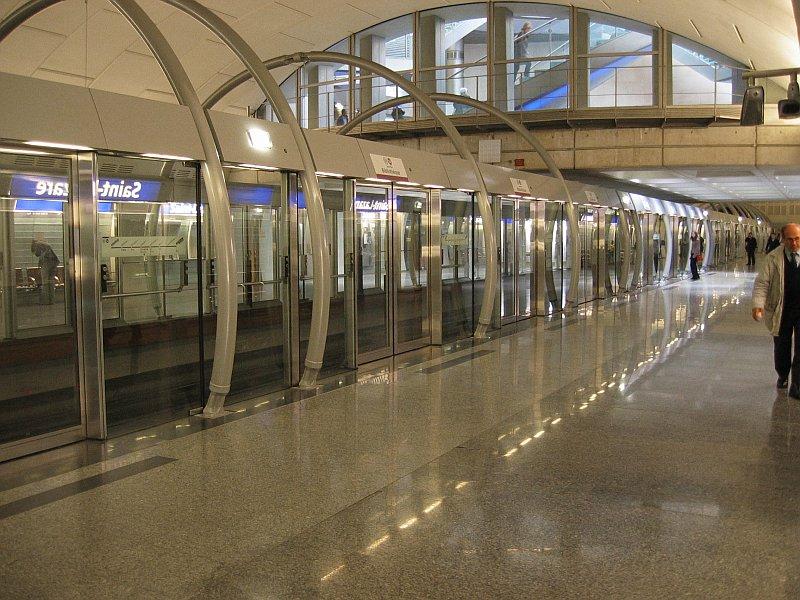 Line 14 - St Lazare station