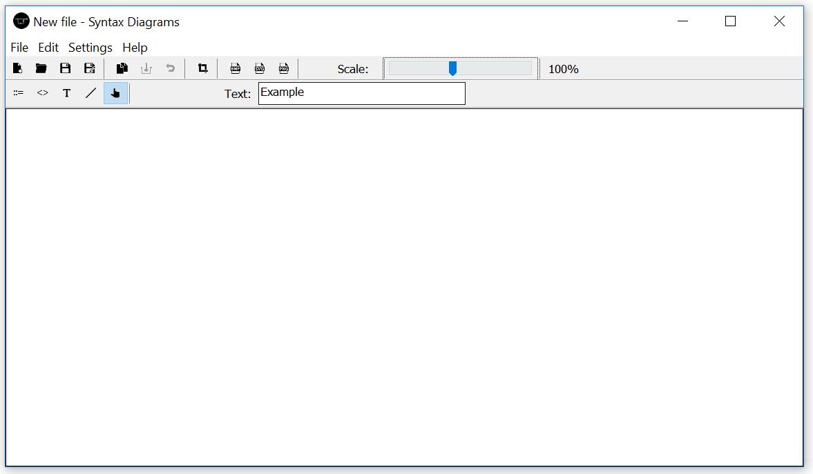 Screen of start window