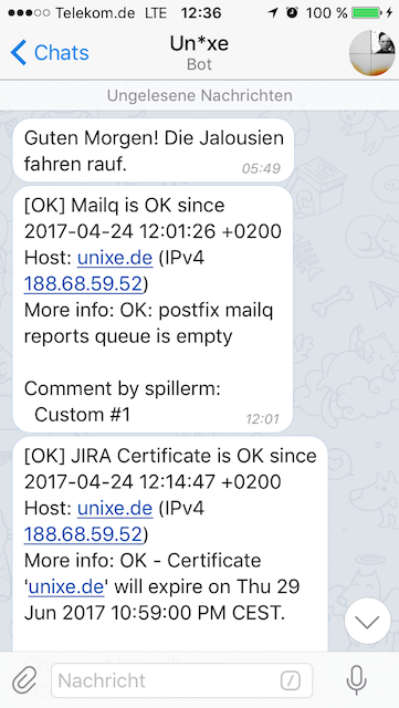 Telegram Notification