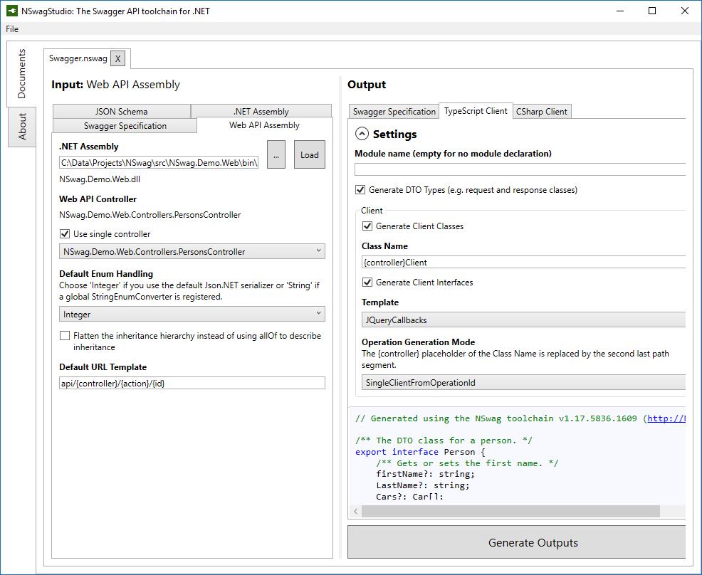 DTO to TypeScript generator - Stack Overflow