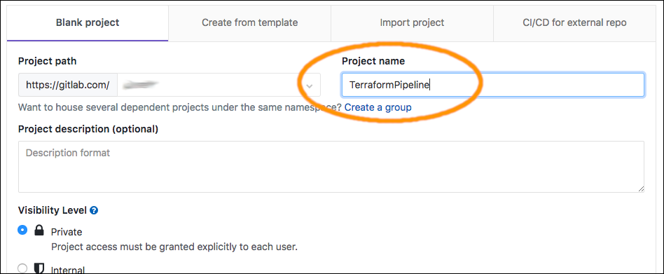 Gitlab Project Token