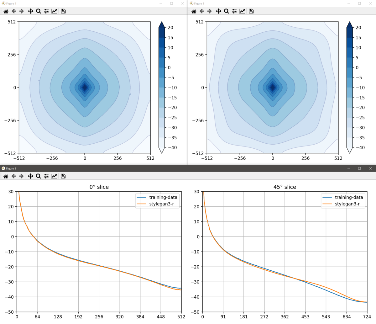 Average spectra screenshot