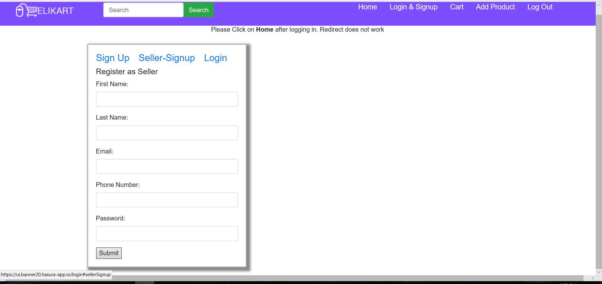 web-signup