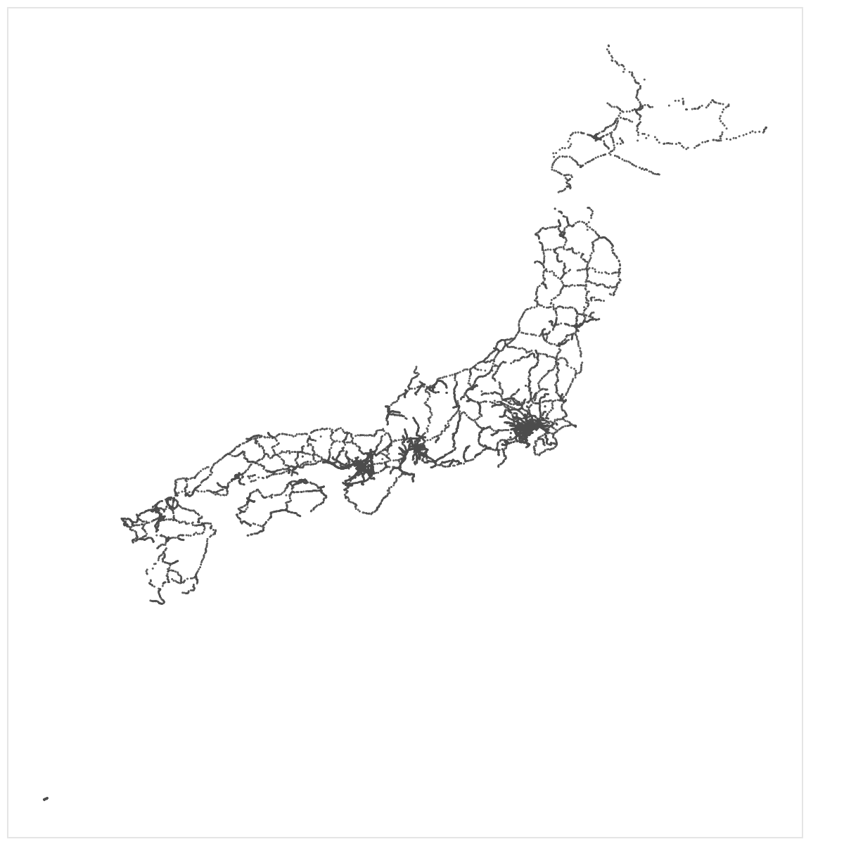 stations in Japan