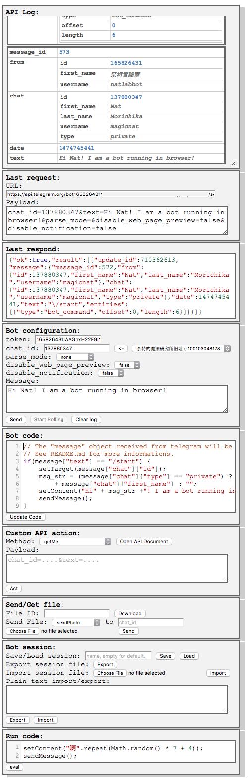 GitHub - Nat-Lab/telegram-html-bot: Run your own telegram bot inside