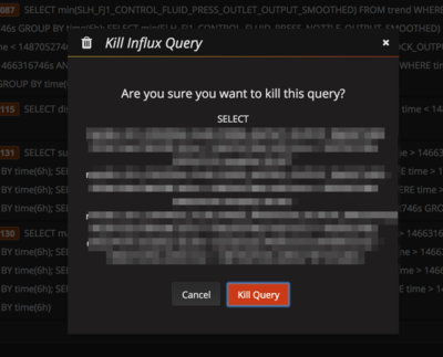Kill Queries