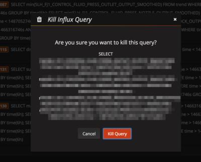Kill Queries