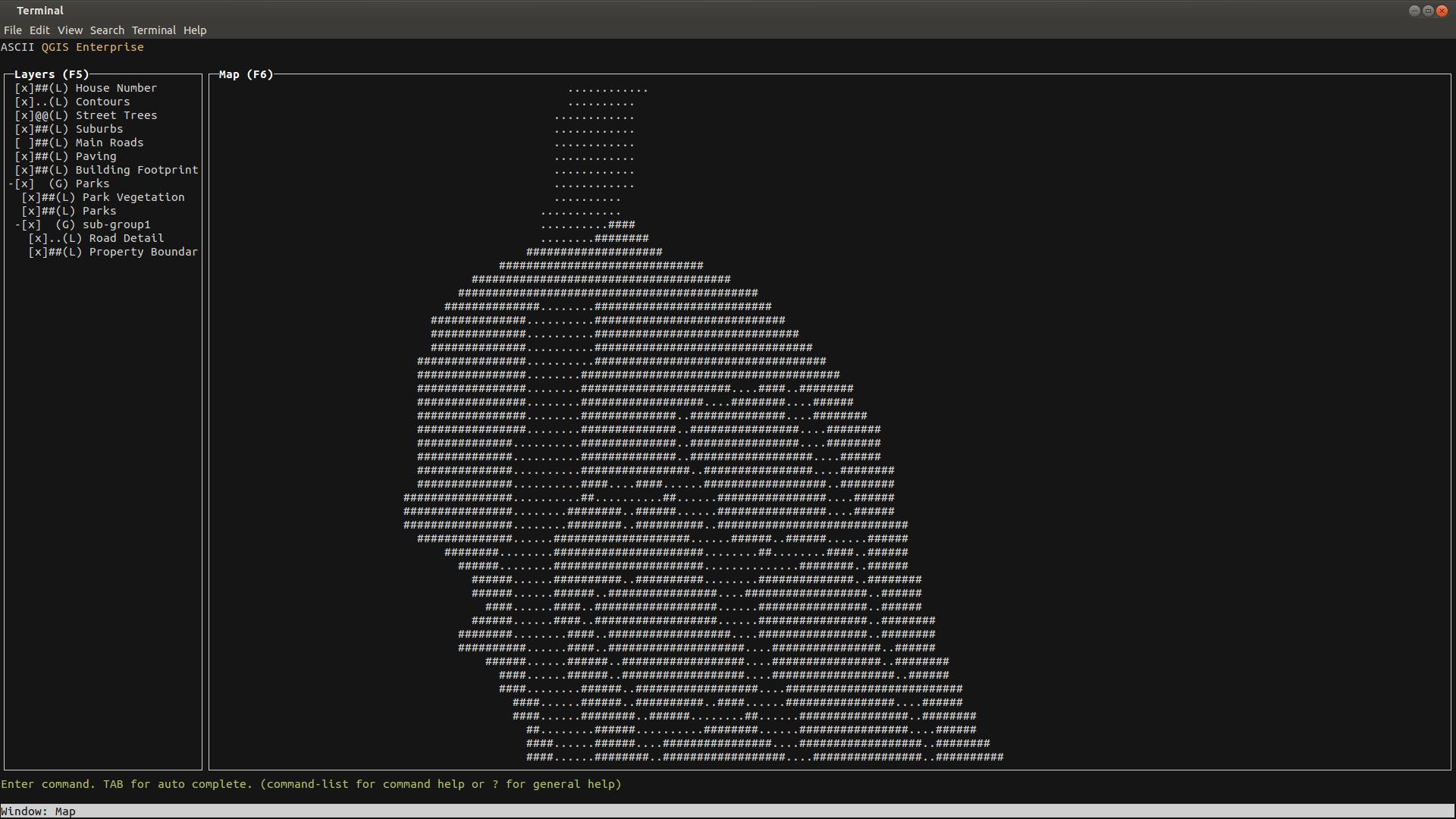 ASCII QGIS