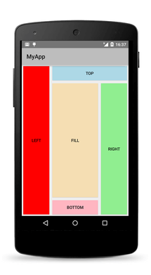 DockLayout android