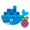 Docker & Raspberry Pi Icon by icons8 from https://icons8.com/