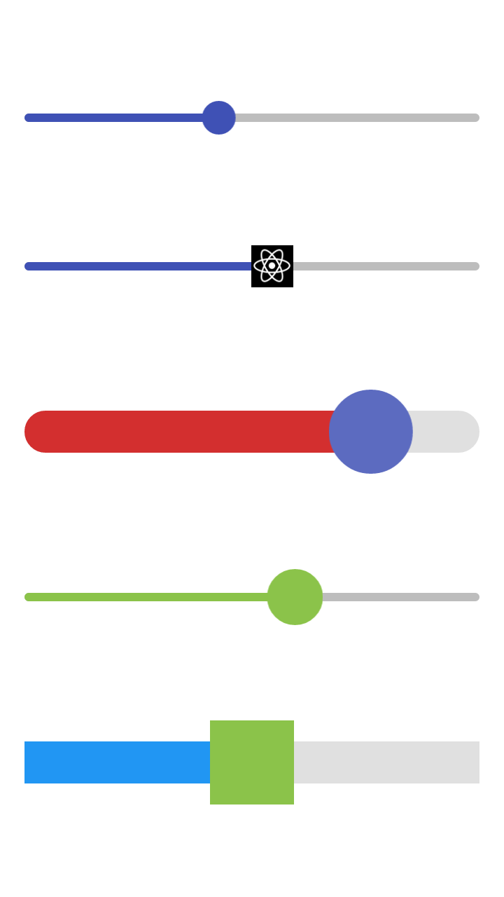 Slider component preview image