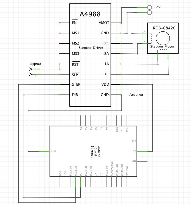 Neumi/Python-UDP-Arduino-Stepper-Motor: Snippet
