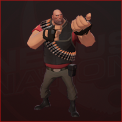 Heavy (Red)