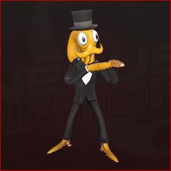 Octodad (Black Tuxedo)
