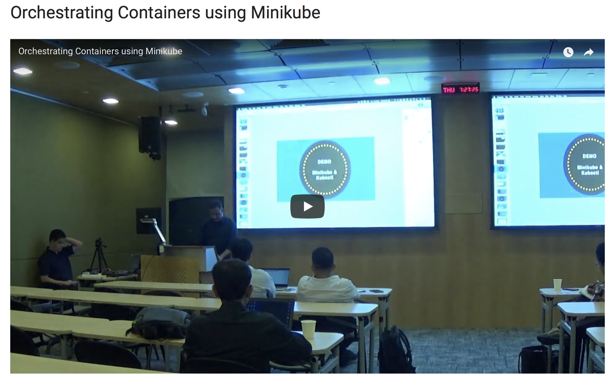 Container Orchestration using Kubernetes / Minikube