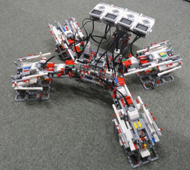 四足歩行ロボット制御用RTコンポーネント群