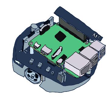 Raspberry Pi Mouse制御のためのRTC、RTシステム