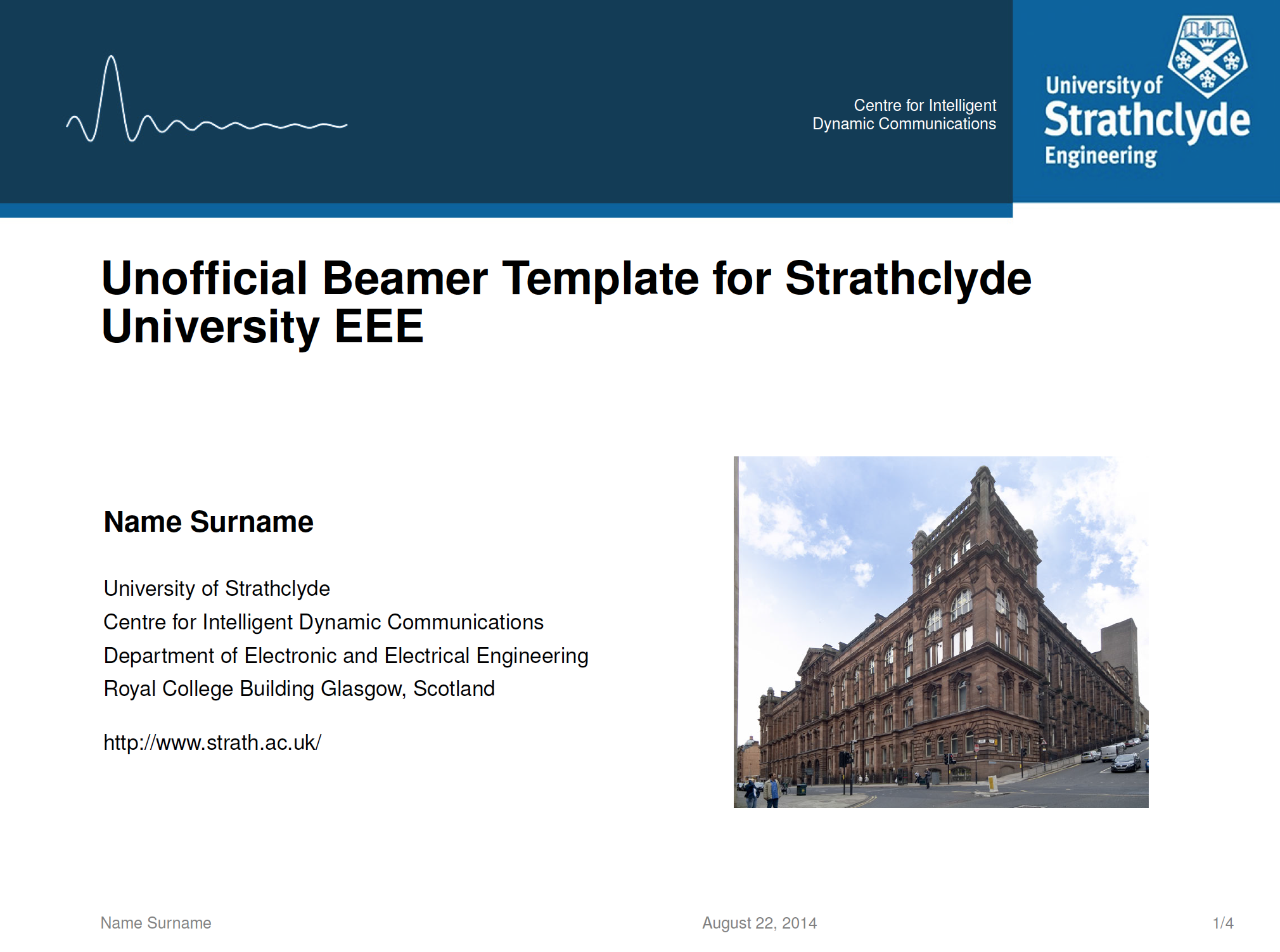 Github Noktec Strachlyde Eee Beamer Template Unofficial