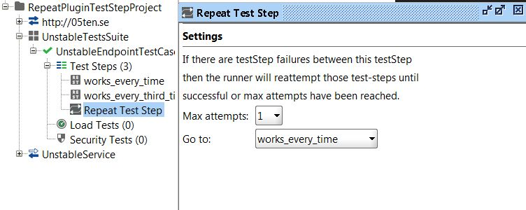 Picture of the teststep
