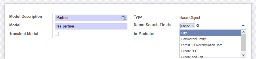 Name Search Fields