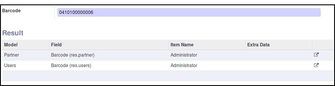 Partner and User Result form