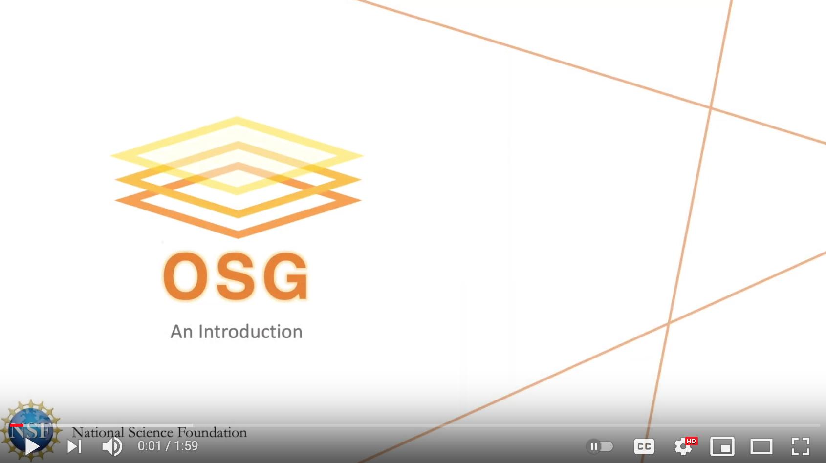 OSG Introduction