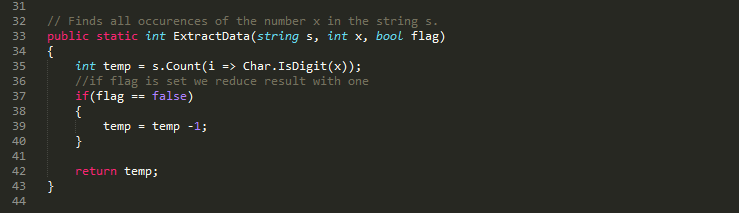 Some really bad code