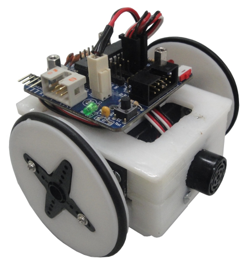 Miniskybot V2 with an skymega board