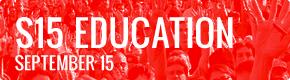 September 15 Schedule: Educate