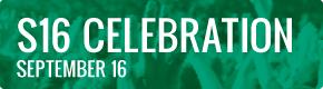 September 16 Schedule: Celebration
