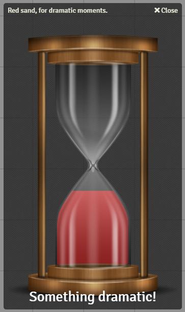 Hourglass Window