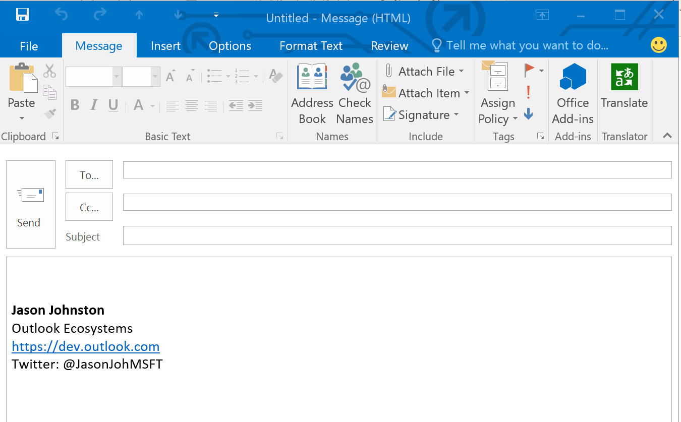 GitHub - OfficeDev/Outlook-Add-in-Commands-Translator: The