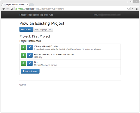 angularjs sample project code