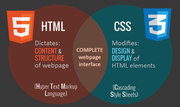 HTML differences