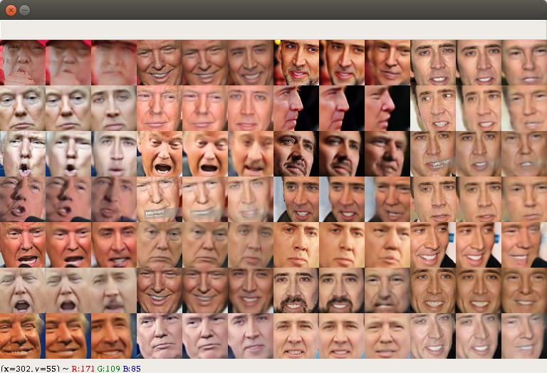 Processing image