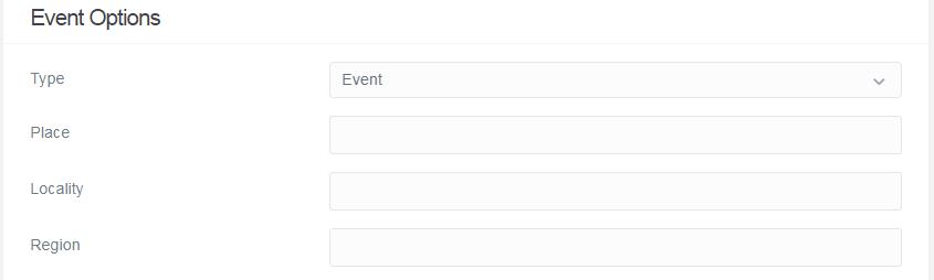 Event Options