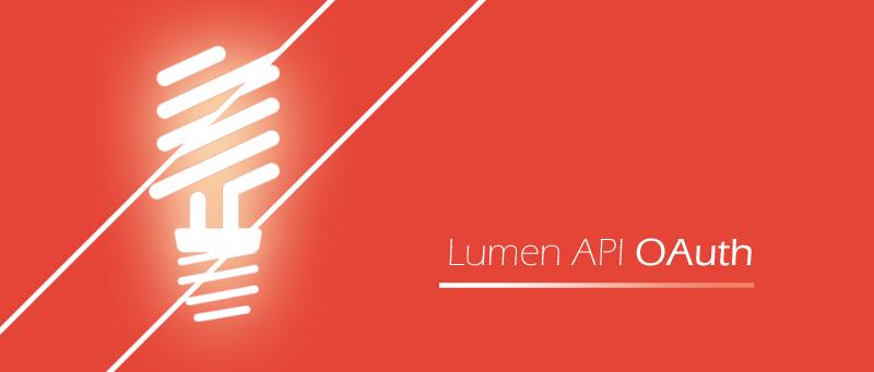 Lumen API OAuth