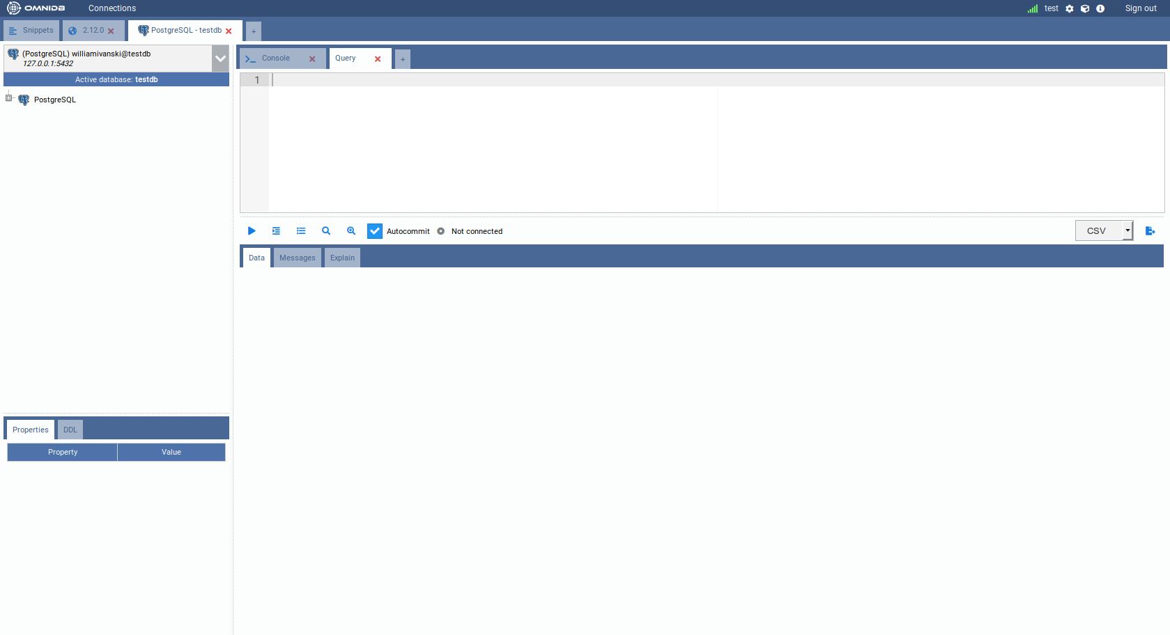 4  Managing Databases