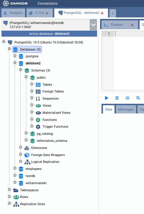 GitHub - OmniDB/OmniDB: Web tool for database management