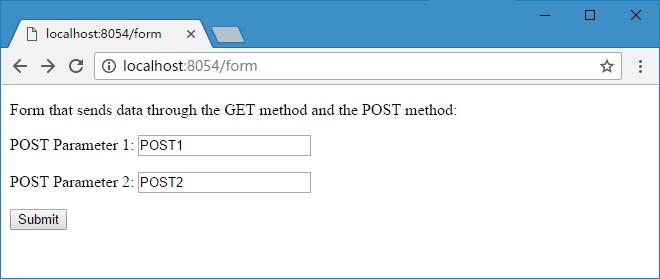 GET&POST 浏览器效果