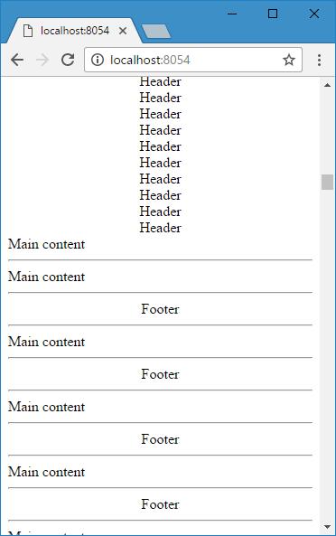 互相嵌套时 index.html 显示效果