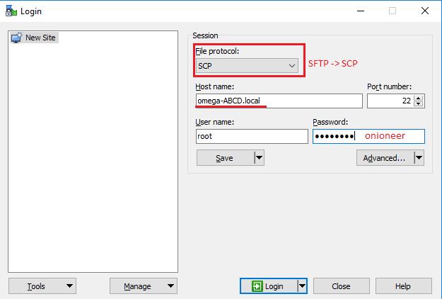 WinSCP Image 2