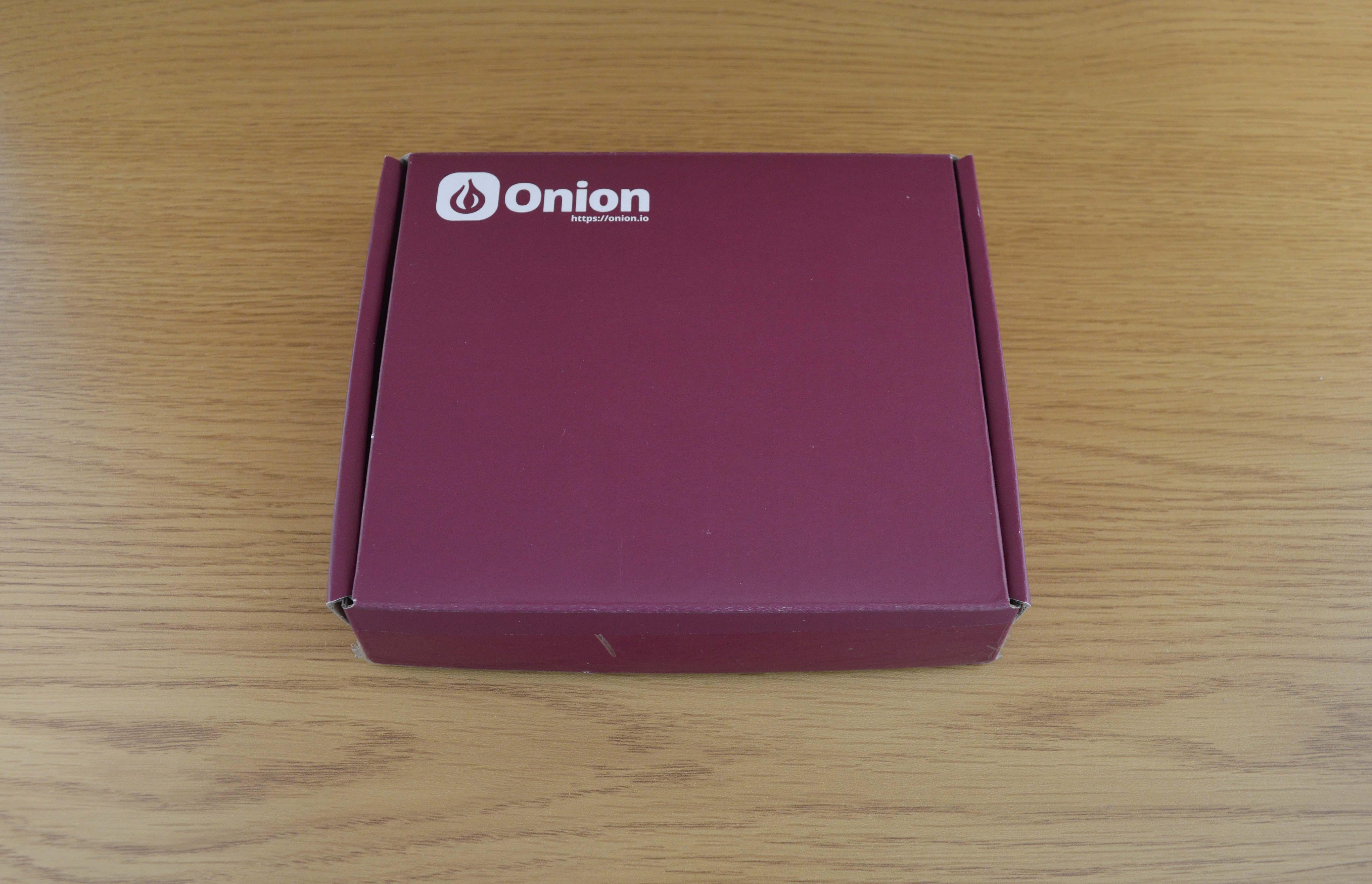 Onion Shipment Box