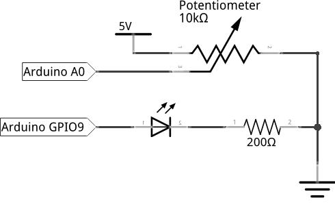Circuit diagram for this experiment
