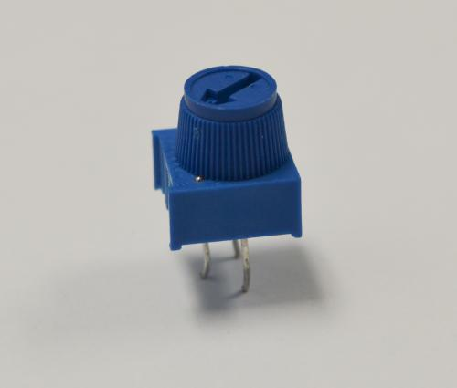 A 10kOhm trimmer potentiometer