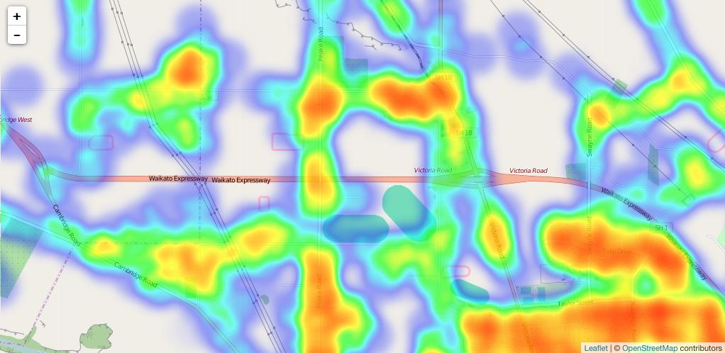 react-leaflet-heatmap-layer - npm