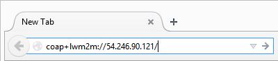 Web browser addressbar